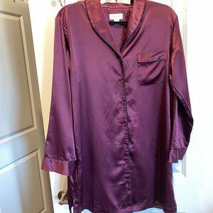 Cabernet Pajama Sleep Shirt